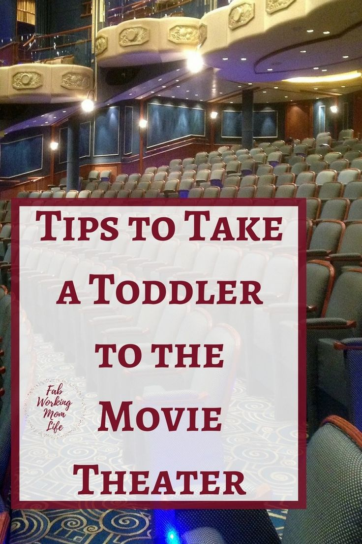 Tips to Take a toddler to the Movie Theater #parenting #toddler #momlife