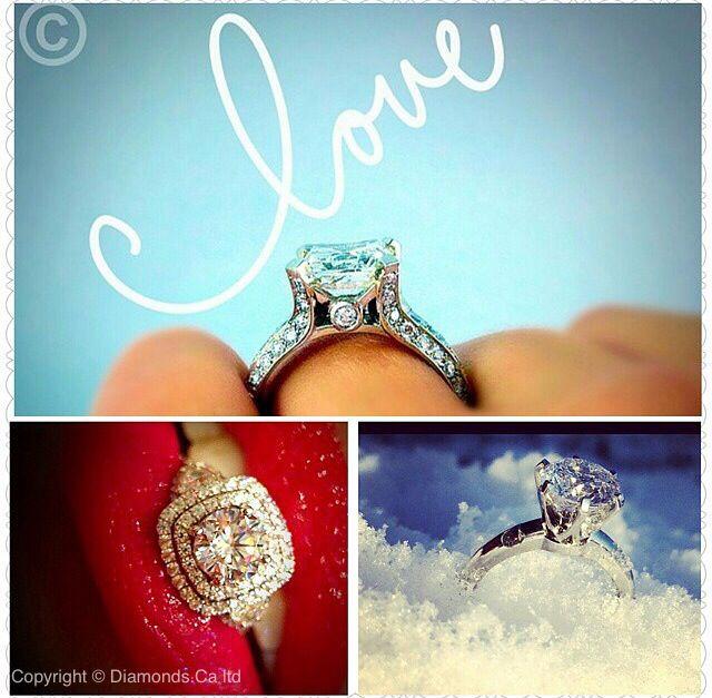 Diamonds.Ca Canadian diamonds set in Yaletown Jewellers rings. Marvellous.