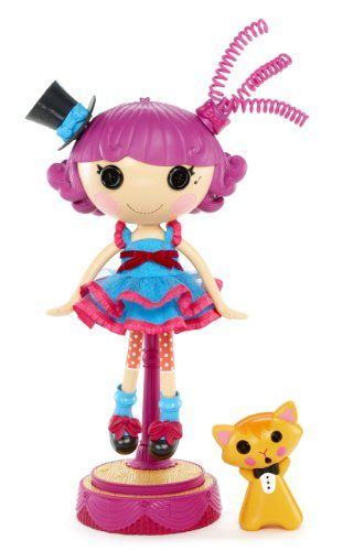 Lalaloopsy Harmony B Sharp Interactive Doll . Perfectly logical -- I know I always enjoy singing different songs, depending on what my hairstyle is.
