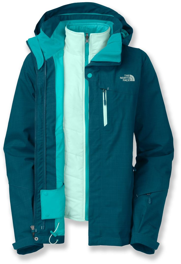 Purchase North Face Mens 3 In 1 Jackets - Pin 197665871119067032