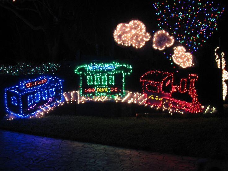 led christmas yard decorations - Rainforest Islands Ferry - lighted christmas yard decorations