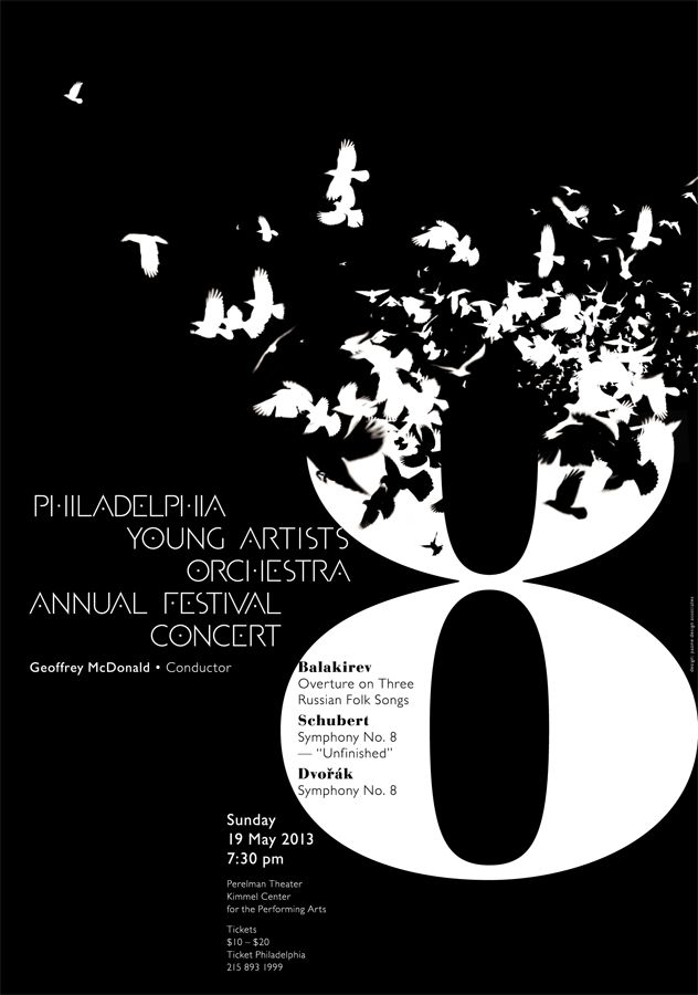 paone design associates : poster: 2013 May – Philadelphia Young Artists Orchestra Annual Festival Concert