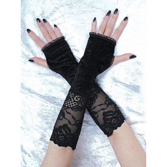 long fingerless mittens for womens arm warmers by FashionForWomen. https://www.etsy.com/shop/FashionForWomen?ref=l2-shopheader-name