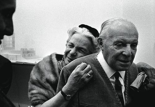 L'architetto milanese Gio Ponti e la moglie Giulia