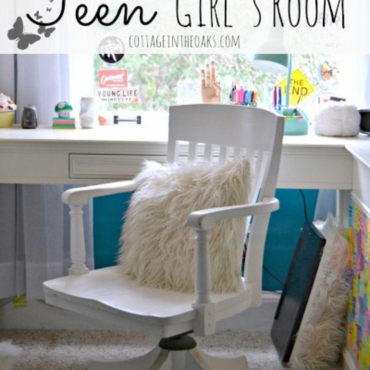 Teen Bedroom Ideas {Girl}