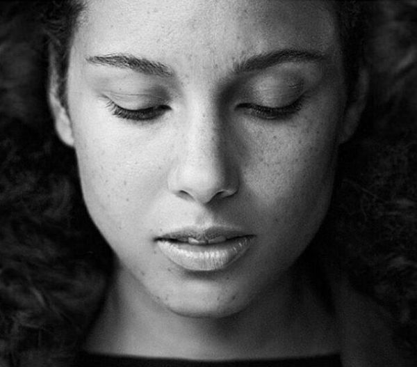 'I don't want to cover up anymore. Not my face, not my mind, not my soul, not my thoughts, not my dreams, not my struggles, not my emotional growth. Nothing.'  - Alicia Keys