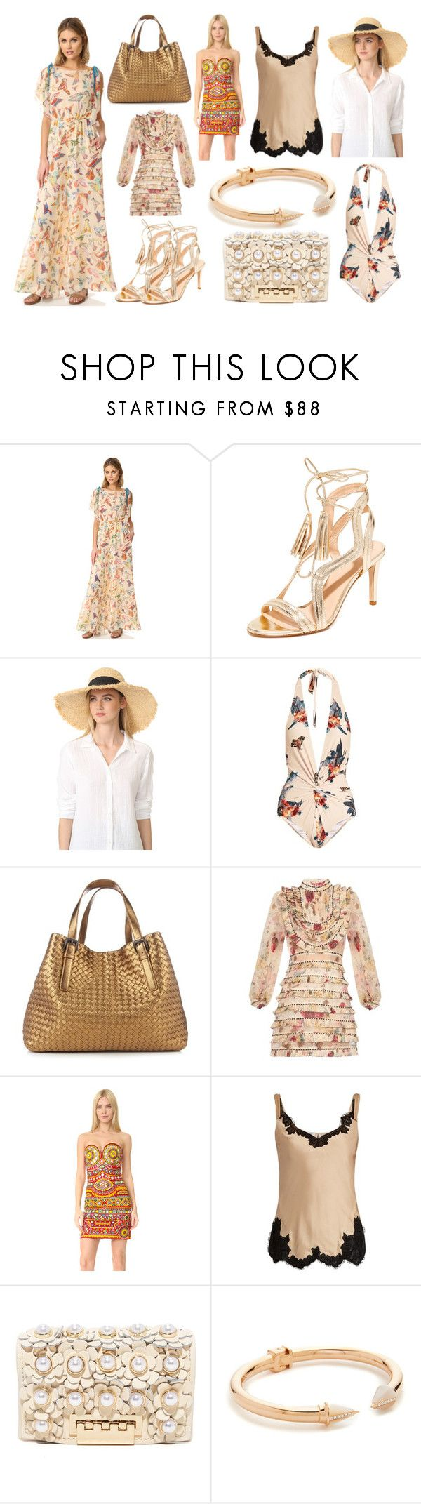 """Happy Weekend​ sale"" by cate-jennifer ❤ liked on Polyvore featuring RED Valentino, Club Monaco, Kate Spade, Katie Eary, Bottega Veneta, Zimmermann, Moschino, Helmut Lang, ZAC Zac Posen and Vita Fede"
