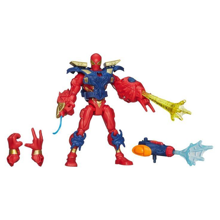Marvel Mashers Spiderman Action Figure