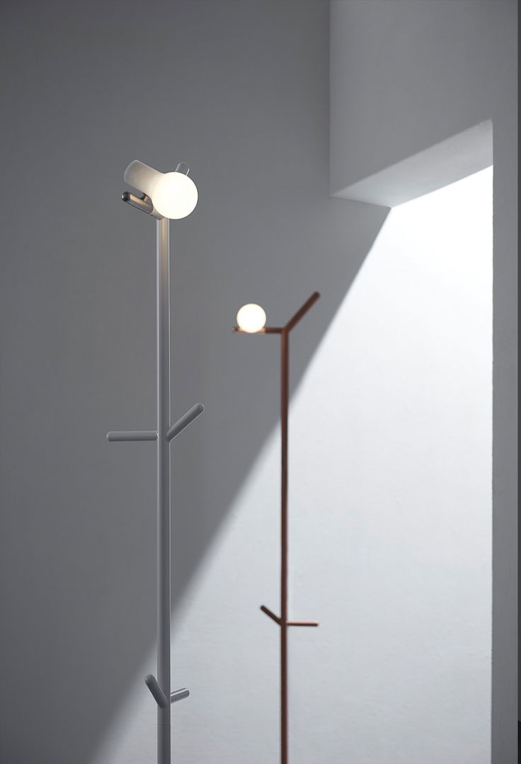Design And Manufacturing Brand GYRO Introduces U0027mynau0027, A Floor Lamp That  Doubles As A Coat Rack And Is Part Of The U0027bird Lampsu0027 Series.