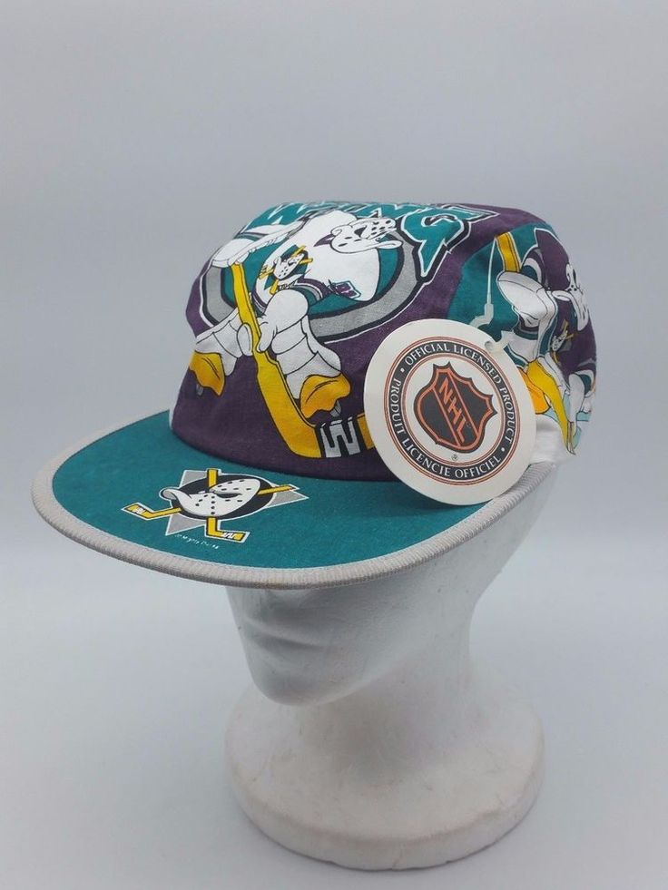 Mighty Ducks NHL Wild Wings Logo 7 Painters StretchBack Stadium Promo Hat W Tag | Clothing, Shoes & Accessories, Men's Accessories, Hats | eBay!