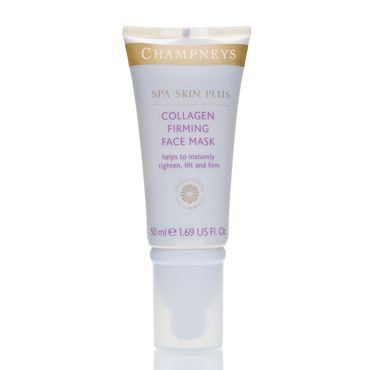Collagen Firming Face Mask - Champneys - works hand in hand with the day crew for an extra treat for your skin - This luxurious mask works instantly to plump, tighten, lift and firm.  Skin looks immediately younger, smoother and more luminous. Use it regularly and our Collagen Boosting Peptide Complex will help actively fill out lines and wrinkles, stimulating natural renewal processes to give you beautiful, long-lasting results...x