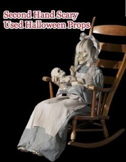 lullaby animated prop haunted house yard realistic moving halloween ghost mom - Halloween Horror Decorations