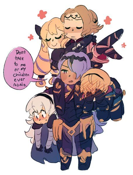 Camilla's such a sweet sister to be true. In fact, probably both Nohrian sisters are the sweetest out of both families.