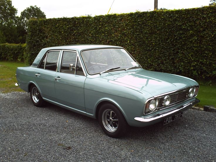 Ford Cortina MK2. If I had more money than sense, I would have so many classic Fords.