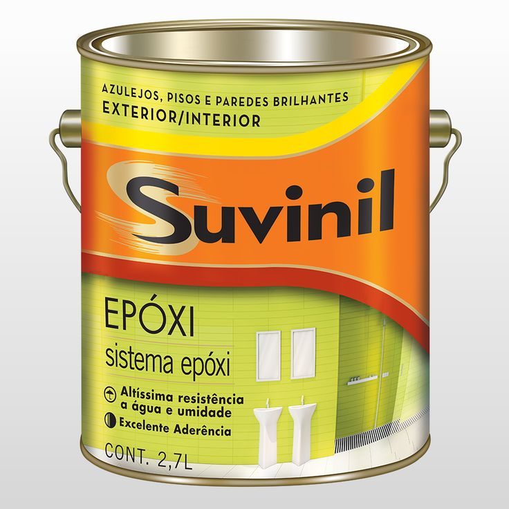 Esmalte Epoxi Suvinil Branco 2,7l - CasaShow