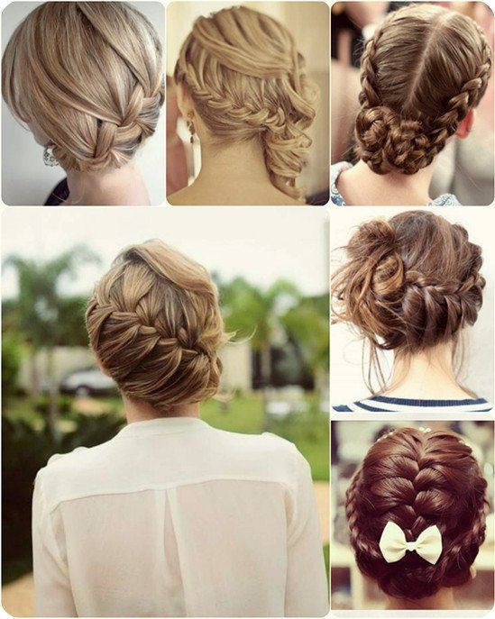 Wonderful Hairstyle Ideas for Christmas and Holidays  --  Beautiful Braided Updo Hairstyle for Christmas