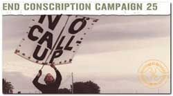 End Conscription Campaign (ECC) | South African History Online In the late 1970s four young men publicly refused to obey their army call-ups by the South African Defence Force (SADF) and were sentenced to up to 18 months in jail. By 1983, 13 objectors had been jailed.