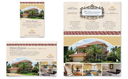 Luxury Real Estate Flyer & Ad Template Design | StockLayouts ...