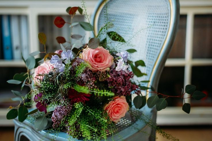 roses and  lilacs