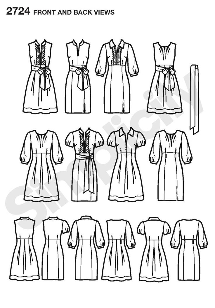 48 best Fashion specification drawings images on Pinterest