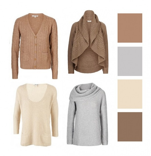 Love these soft colors for Autumn