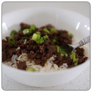 korean beef dinner recipe