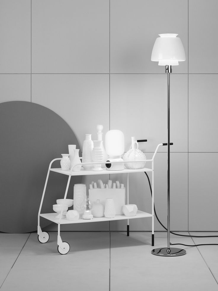 Plug Lamp white by @Form Us With Love for ateljé Lyktan.