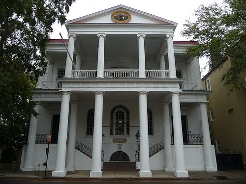 South Carolina Society Hall, Charleston SC