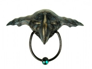 Labyrinth door knocker. Even more adorable than the last.