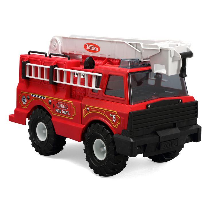 Toys Are Us Trucks : Toy tonka classics steel fire truck by trucks