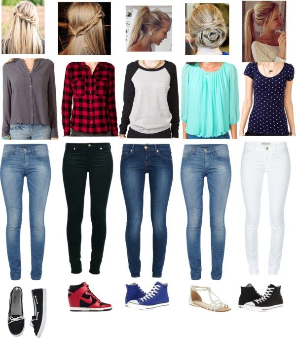160 best casual outfits images on Pinterest | Casual wear Woman fashion and Outfit ideas