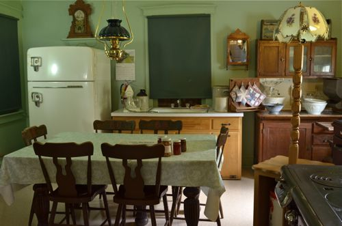 Amish kitchen.