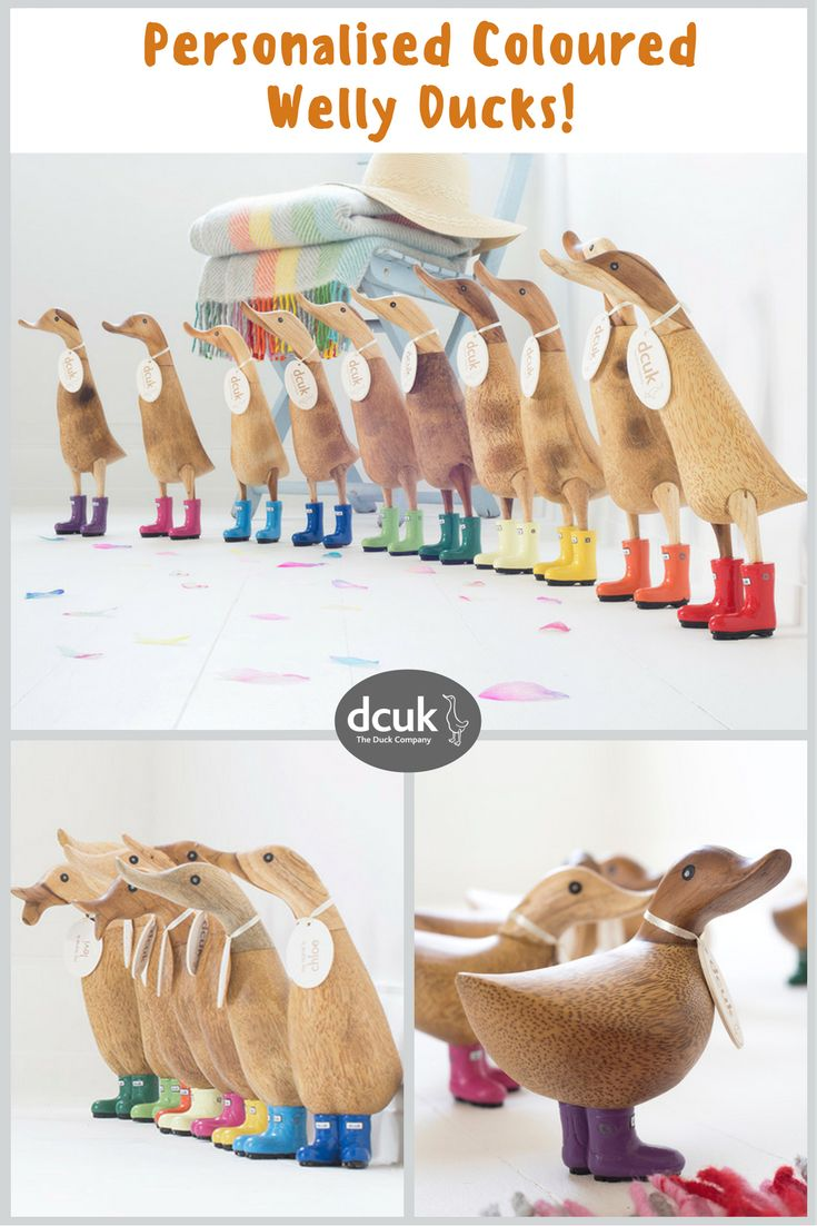 Our coloured welly Ducks make quacking gifts or home decor accessories  10  jewel bright colours. 58 best Christmas Gift Ideas images on Pinterest