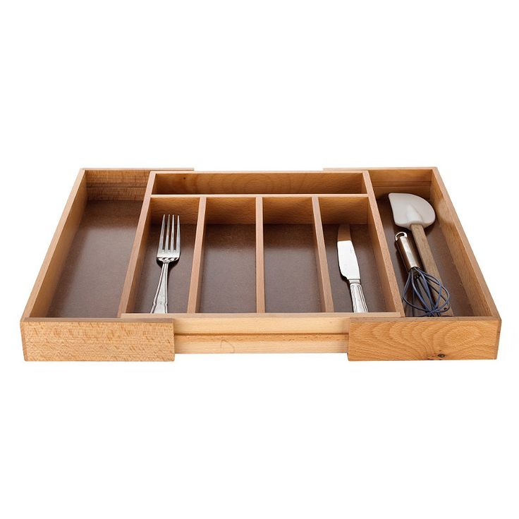 Draw Expander - £20 - Lakeland - Extending Wooden Cutlery Tray