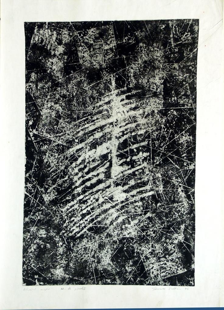 mezotinta, aquaforte, 1995