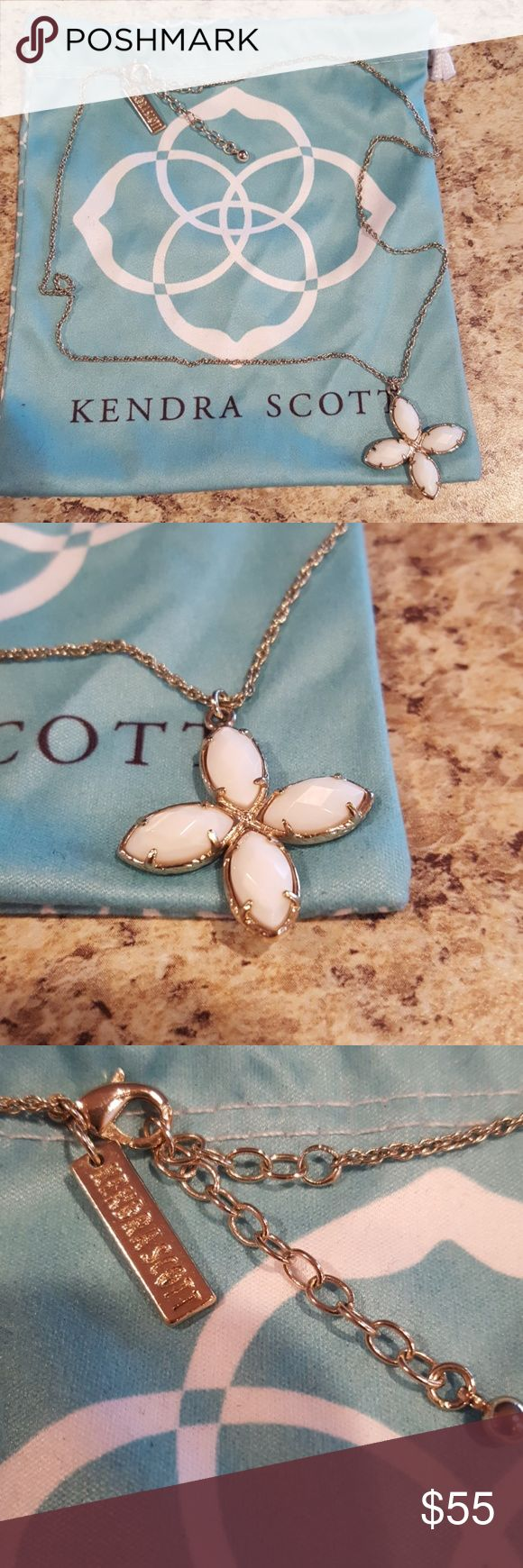 """Kendra Scott 20"""" Necklace And Dust Bag Nice condition! Kendra Scott Jewelry Necklaces"""