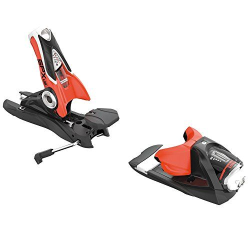 Rossignol Look SPX 12 Dual WTR B90: Ski Bindings (Black/Red, One Size)