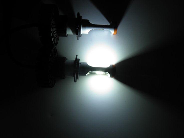h7 canbus led bulb car led light headlight 6000 lumen led headlamp
