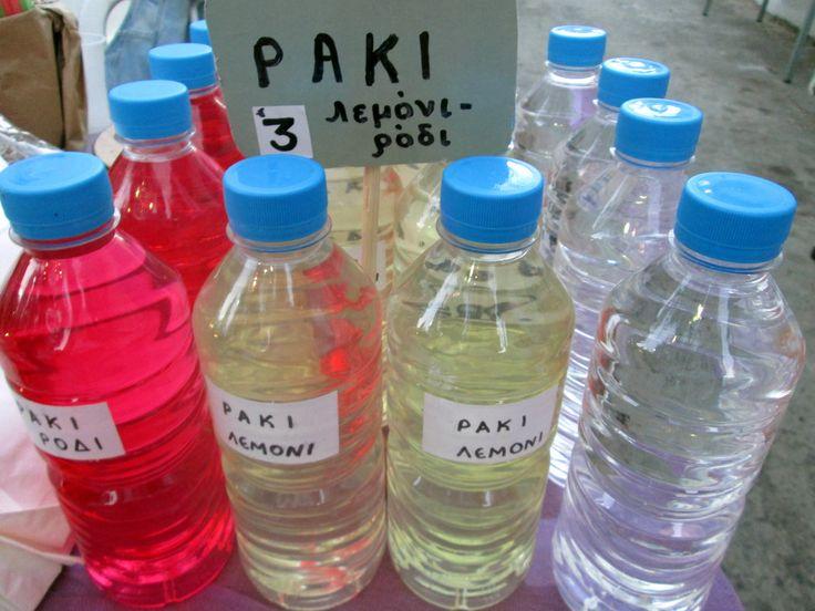 All possible varieties of Cretan raki
