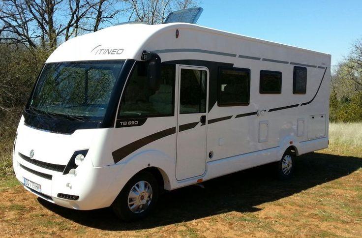 Je loue mon camping-car ITINEO TB690 ZEN ALLURE 2015FIAT DUCATO 2.3 / 130CV 8464kmLongueur 6,95Largeur2.35Hauteur2.89Climatisation cabine /Régulateur de vitesse/Fermeture centralisée/Airbag passagé/Rétroviseur éléctrique dégivrant/ eclairage luxe/Porte confort cellule (vitre)/Moustiquaire porte et toutes fenêtres/Lanterneau cabine (dessus lit pavillon) Attelage/Antenne satellite automatique «snipe» / tv 15 pouce avec lecteur cle usb / peanneau solaire 100 watt / store 4 mètres / rado cd…