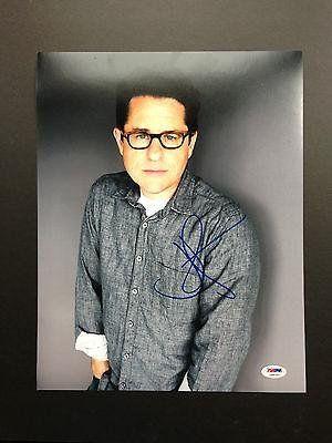 Jj Abrams Signed 11x14 Photo Autograph Coa Star Wars The Force Awakens - PSA/DNA Certified - Autogra @ niftywarehouse.com #NiftyWarehouse #Geek #Gifts #Collectibles #Entertainment #Merch