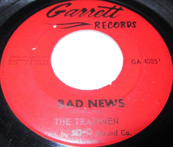 Trashmen Bad News