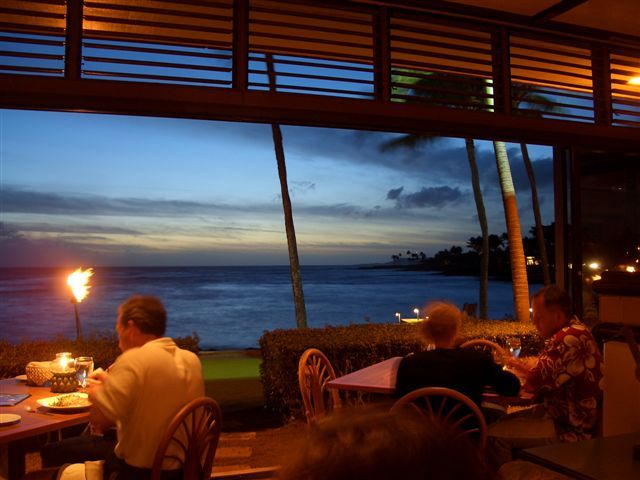 Beach House Poipu Kauai One Of The Best Meals I Ve Ever Had And In Most Spot Completely Open To Vacation Y All Hawaii