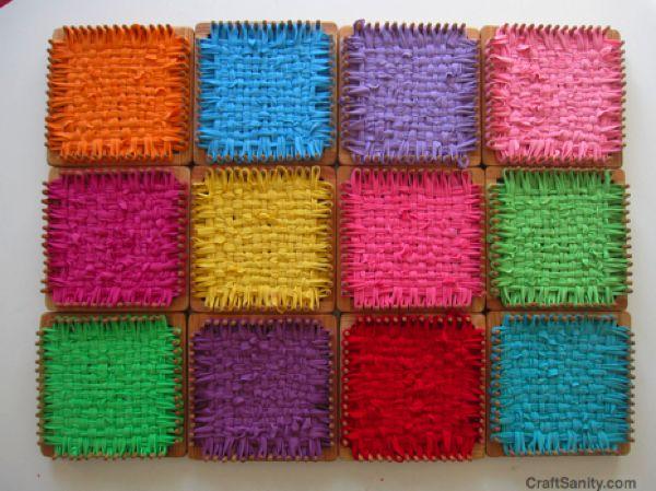 Craft Sanity weaving looms