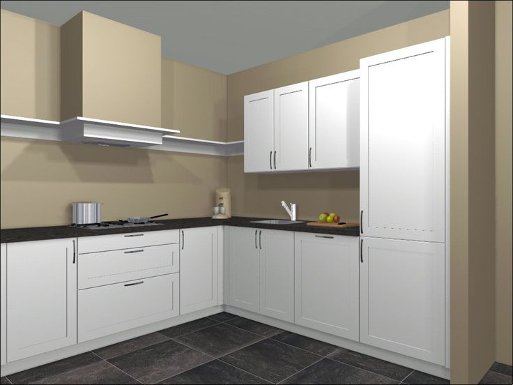 Ontwerp keuken door Ardi keukens. Te realiseren keuken nieuwe woning.