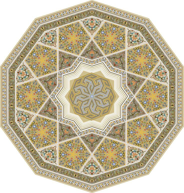 35-Floral Pattern (Khatai)