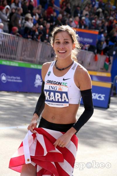 Kara Goucher / USA / Marathon