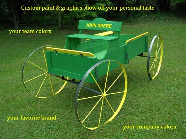 Oh Deere what a wagon by http://www.wmconstr.com   http://www.facebook.com/haywagon