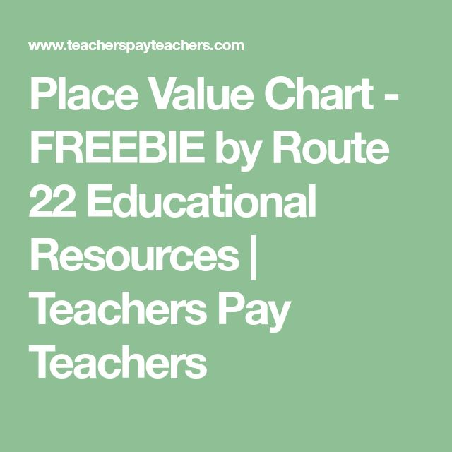 Πάνω από 25 κορυφαίες ιδέες για Place value chart στο Pinterest - place value chart