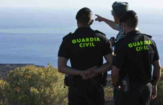 Guardia Civil.  El Hierro, Canary Islands Spain.